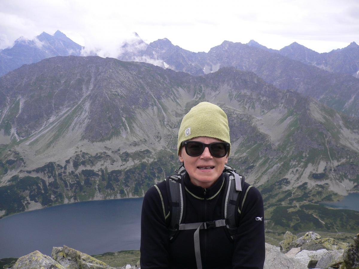 Malgo in the High Tatras